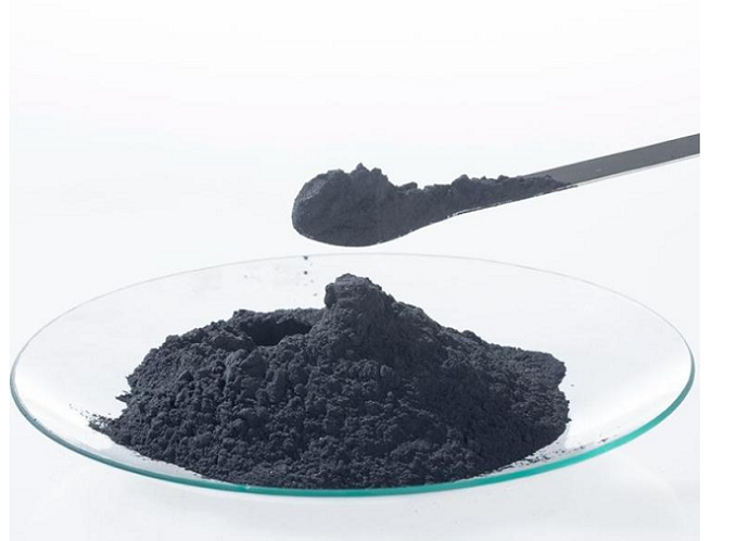 Low carbon graphite powder