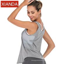 New Style Women Yoga Tank Tops Mesh Gym T shirt Sports Sexy Womens Activewear