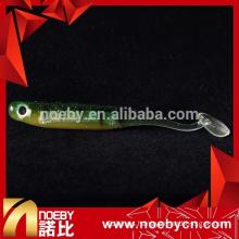 rainbow paper transparent color soft body fishing bait lures