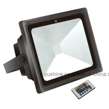 30W LED Flood Light with Red/Blue/ Green/Yellow Color