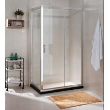Preço grossista AS / NZS2208 Quarto de chuveiro simples de vidro temperado padrão australiano (C17)