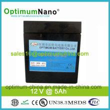 12V 5ah High Energy Density Lithium Battery for Vacuum Cleaner