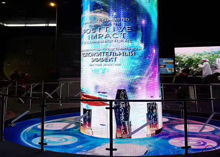 soft led display video wall