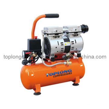 Безмасляный бесшумный электродвигатель компрессора воздушного компрессора бесшумного двигателя (Hw-1009)