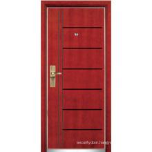 Steel Wooden Armored Door (YF-G9041)