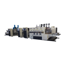 Automatic high speed flexo  printing slotting folder gluer  strapping line