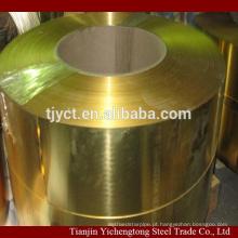 Tira de latão / bobina de bronze / fita de bronze C2680 C2600 C2800