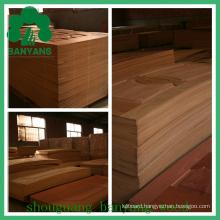 Red Walnut Wood Veneer HDF/MDF Moulded Door Skin