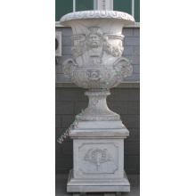 Marble Flower Vase for Garden Stone Furniture (QFP189)