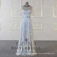 Royal Blue Evening Dresses Women Mermaid Prom Dress 2018 Latest Long Evening Gown