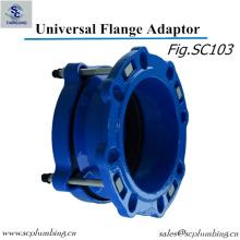 Ductile Iron Pipe Flange Adaptor / Universal Flange Adaptor