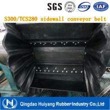 Large Incline Angle Conveying Sidewall Conveyor Belt