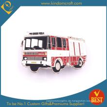 Feuerwehrauto-Abzeichen für Souvenir als Werbegeschenk