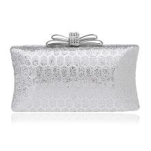 Sequin Silver Women's Evening Dinner Clutch Bag Bride Bag For Wedding Evening Party Bridal HandBags B00110 dinner bag