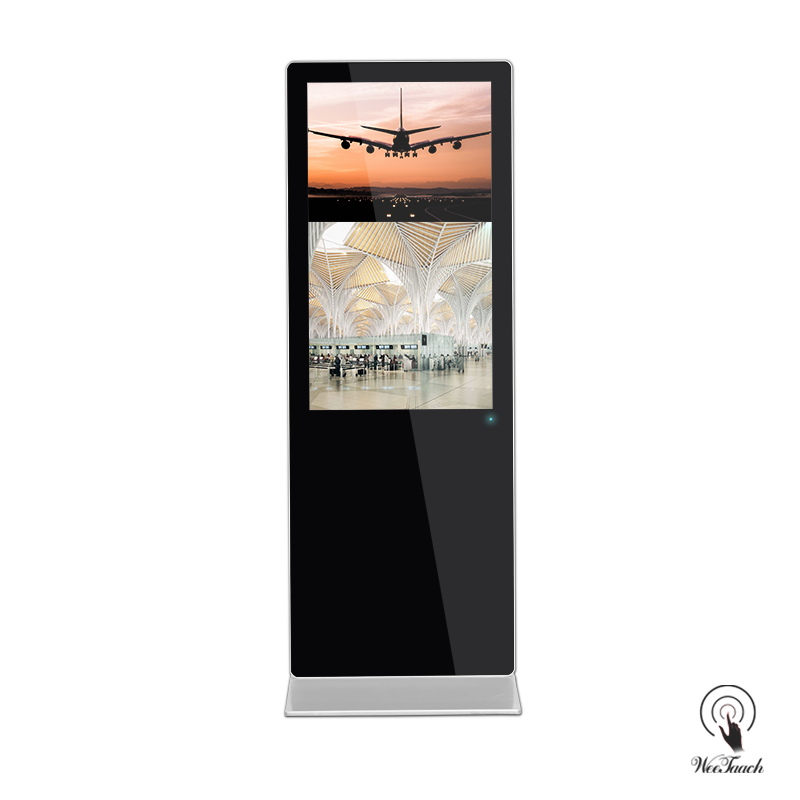 65 Inches Digital Signage Platform for Air Port