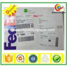 Preço de fábrica 250g Duplex Board Paper Grey Back