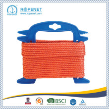 High Quality 3 Strands Twisted PP Rope digunakan di Hardware