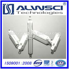 Inserção cônica de 5mm com mandril interior e pés de polímero adequados para frascos 8-425