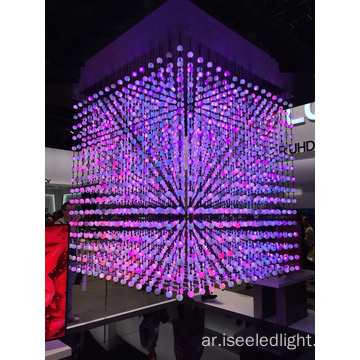 Crystal LED Ball String Color Change DMX Control