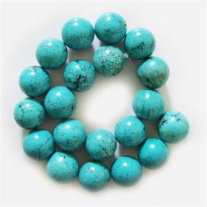 Perles rondes Turquoise 20MM