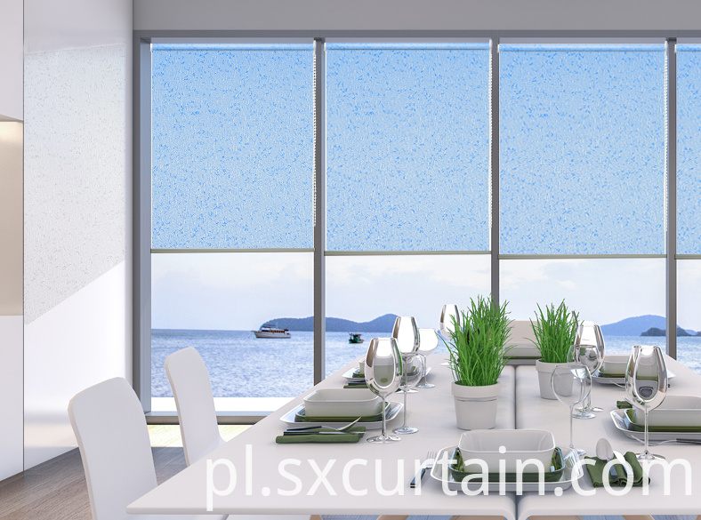 Dyed Roller Blind Curtain Shade
