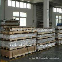 Folha de alumínio laminada a quente de alta qualidade 1100 H14
