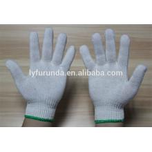 O fornecedor da China do algodão malha luvas de trabalho