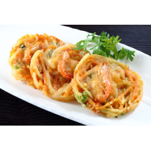 Seafood and Vegetable Cake, Prepared Fried Vegetable Cake Quick Food Fried Pie