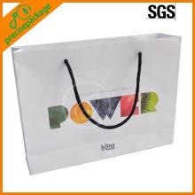 Newly Logo imprimé sacs à provisions en papier alimentaire