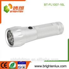 Alibaba Vente en gros CE 16Led Lampe UV Détecteur de monnaie contrefaçon Prix bas Matal UV désinfectant léger conduit la torche blacklight