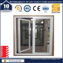 Grade de madeira Vidro duplo Australia Standard Aluminum Window (50)