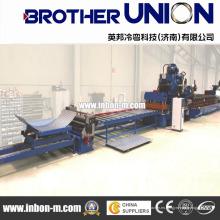 High Efficiency High-Precision Made in China Elevador de granos de revestimiento de granos Roll formando la línea de la máquina