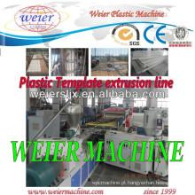 Preço para máquina de extrusora de parafuso duplo / PVC máquina de linha