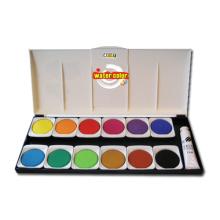 Pastel de agua de 12 colores