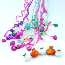 Nouvelle arrivée 2018 partie papier Streamer poignée jeter des confettis pour les jouets des enfants
