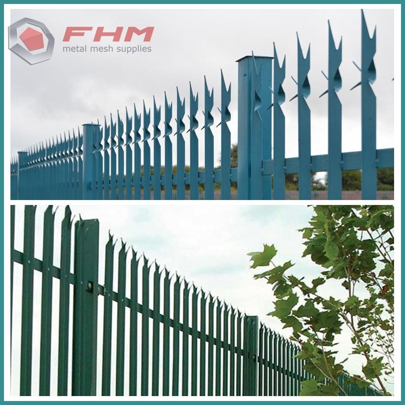 Metal Palisade Fence