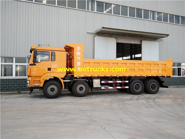 SHACMAN 30 Ton Tipper Trucks