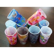 2015 más nueva taza plástica disponible 3D
