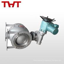 Válvula de esfera semi-excêntrica de aço motorizado de 2 vias