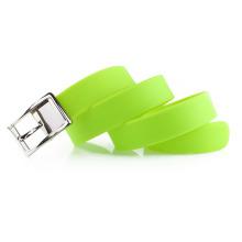 Cinturón de caucho con embalaje de caja de plástico