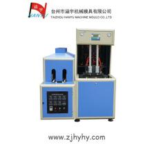 2 cavity semi-automatic plastic stretch blow molding machine