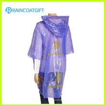 Emergency Disposable PE Women′s Raincoat