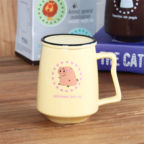 animal coffee mug