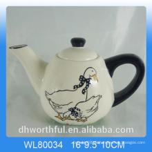 Kreative Decal Ente Keramik Teekanne für Dekor