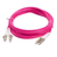 Fábrica de Shenzhen Fonte Simplex Duplex Multimodo, 10G OM4 LC MPO cordões de patch de fibra