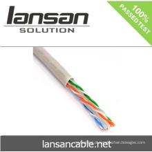 UTP FTP CAT 6 LAN cabo BC CCA em 1000ft Com CE UL ISO RoHS Aprovação