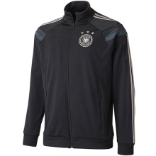 2014 Germany Black Anthem Track Top Soccer Jacket