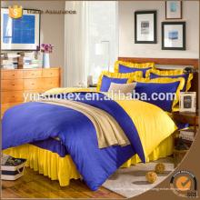 König Größe plain gefärbten Hause Bettwäsche gesetzt 4pcs Bettwäsche gesetzt, 2016 neue Produkte