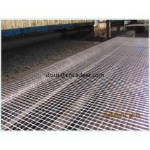 Géogrille biaxiale enduite de fibre de verre de bitume de la Chine