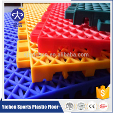 Outdoor PP plastic tiles for basketball court, PP interlocking floor